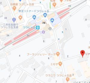 調布ピラティスPIKO地図